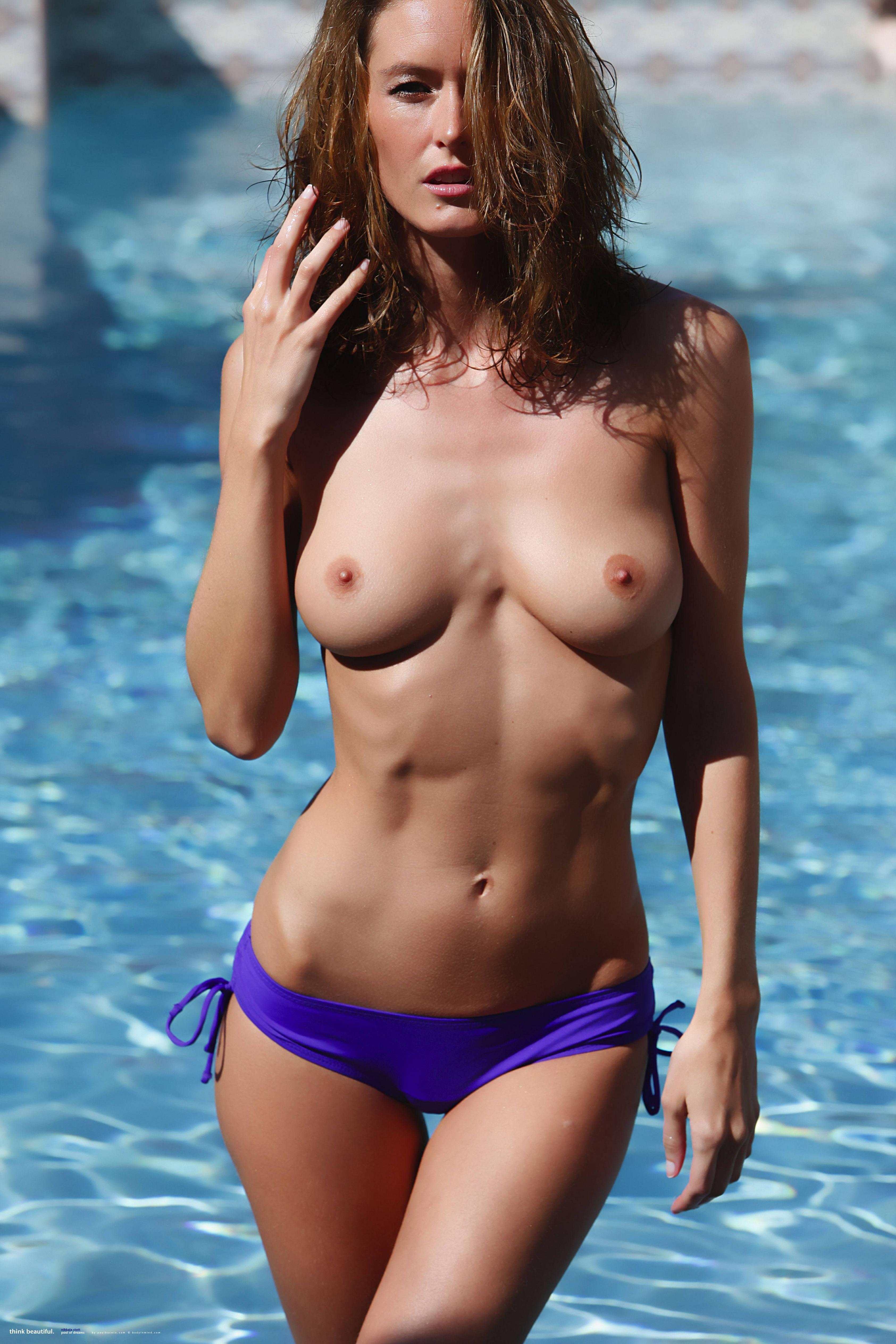 Classic Nikkala Stott In The Pool