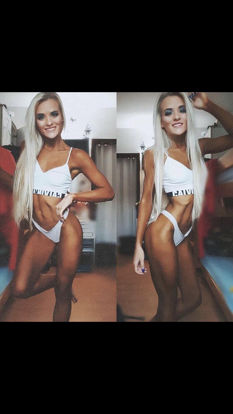 Alena Ready For Her Bikini Competition