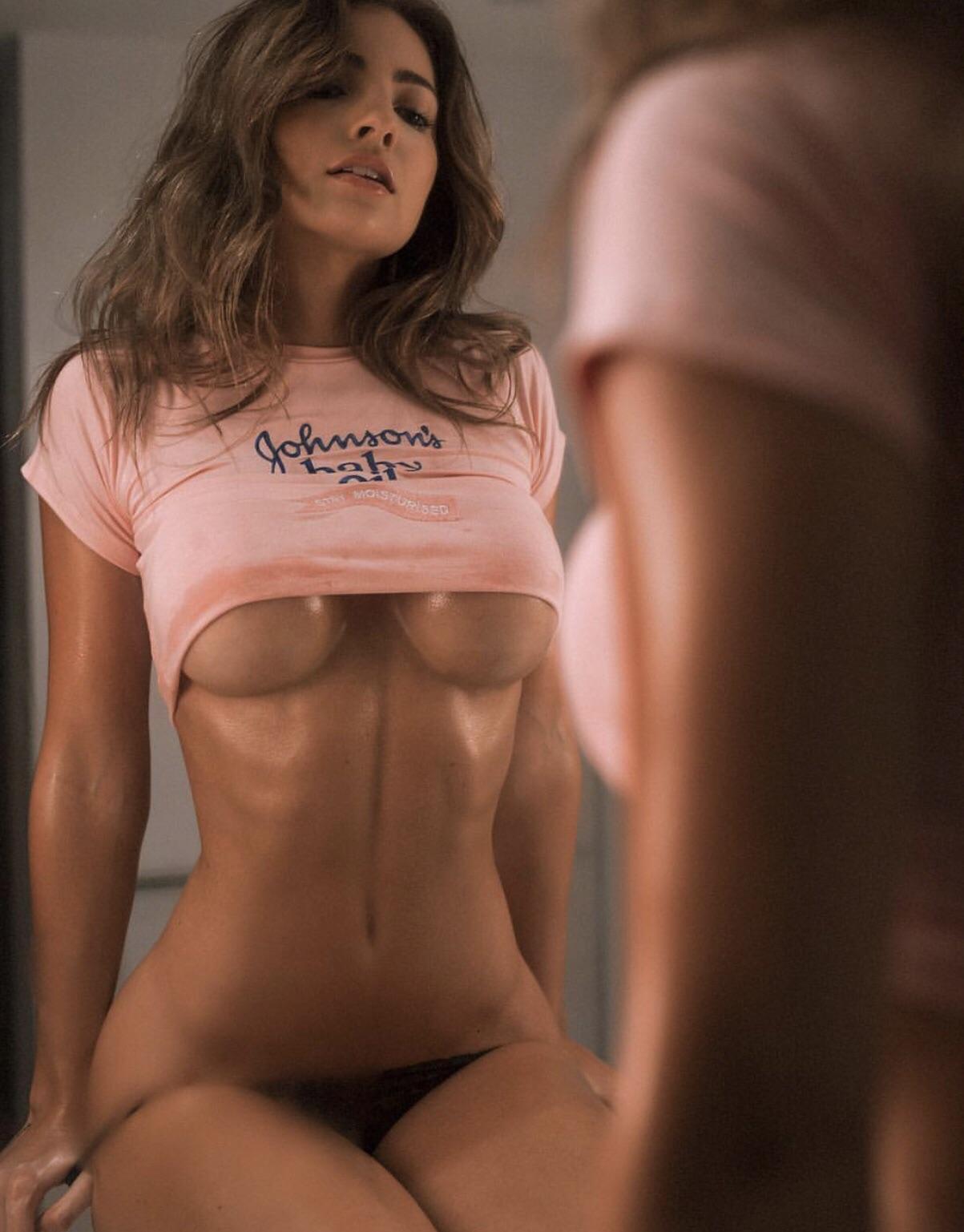 Not Quite Naked, But Fit & Hot AF