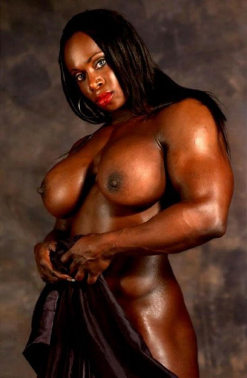Nude black female bodybuilders porn