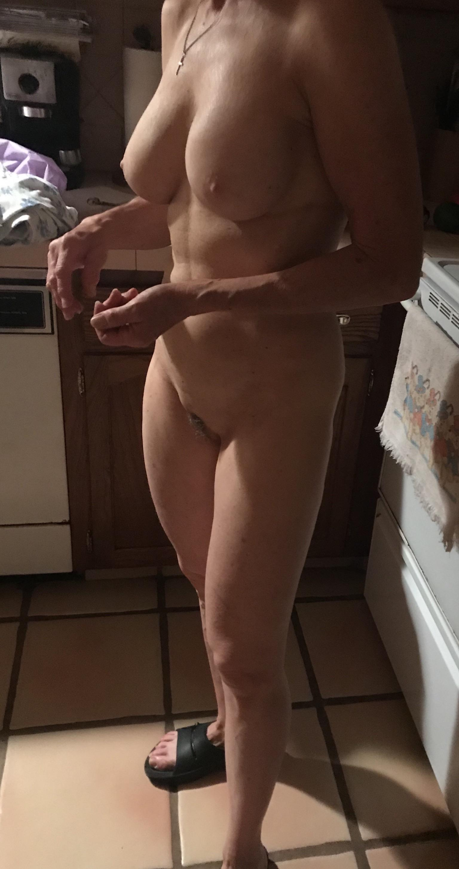 Hanging Out In The Kitchen.