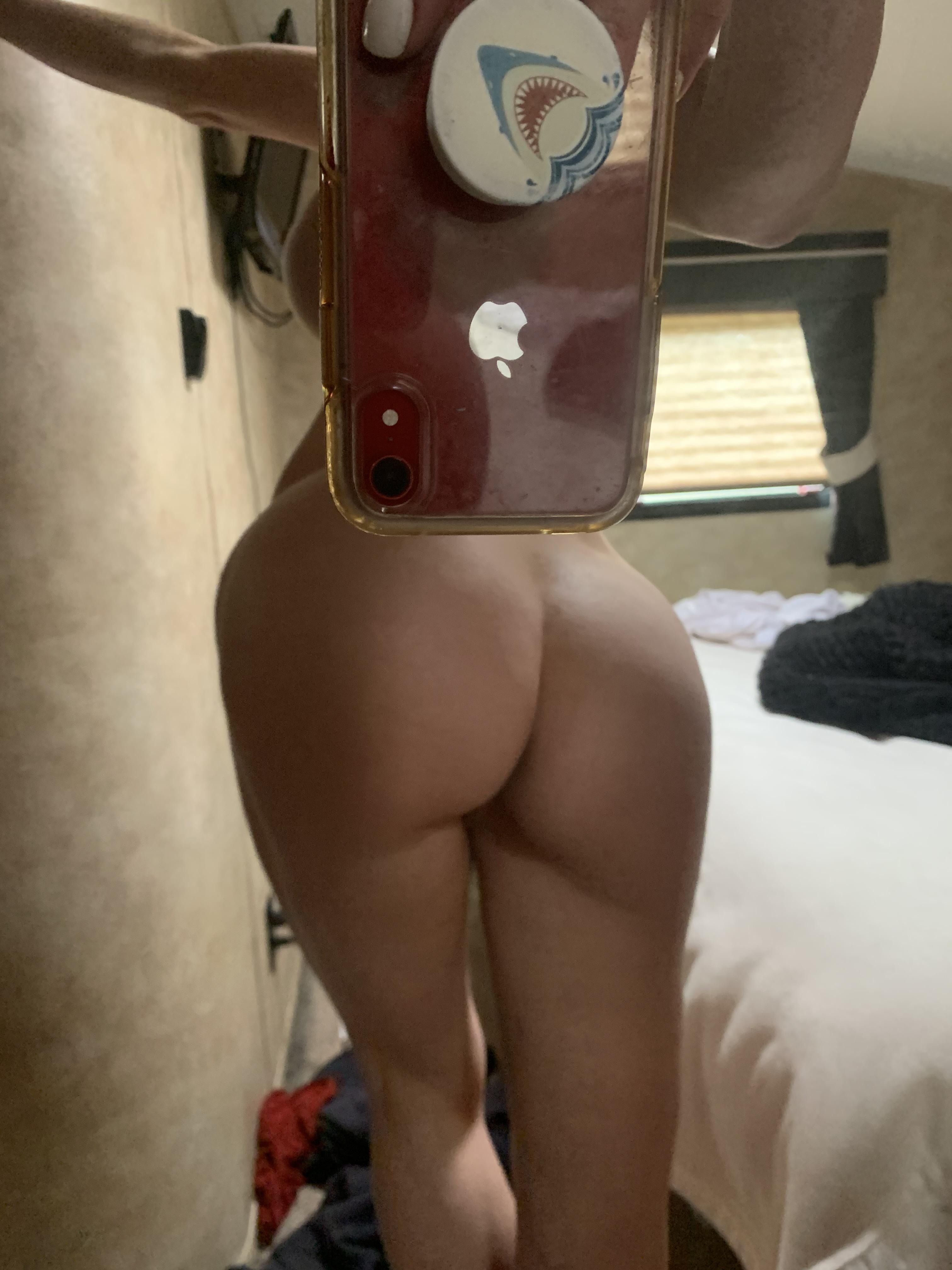 Post Gym Butt Selfie