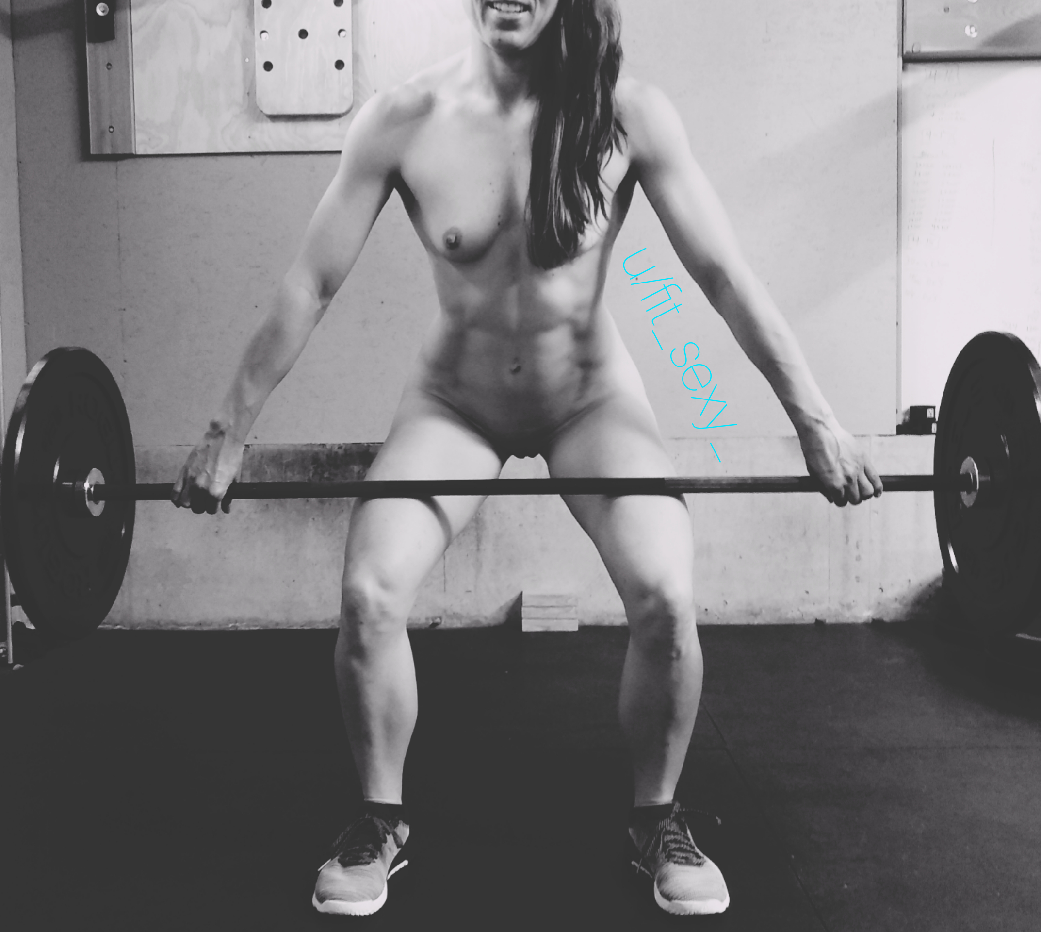 Being Nude And Working With A Barbell.. My 2 Favs ???
