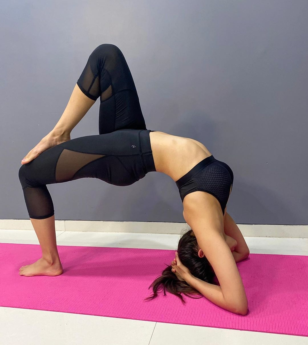Getting Fit Doing Yoga