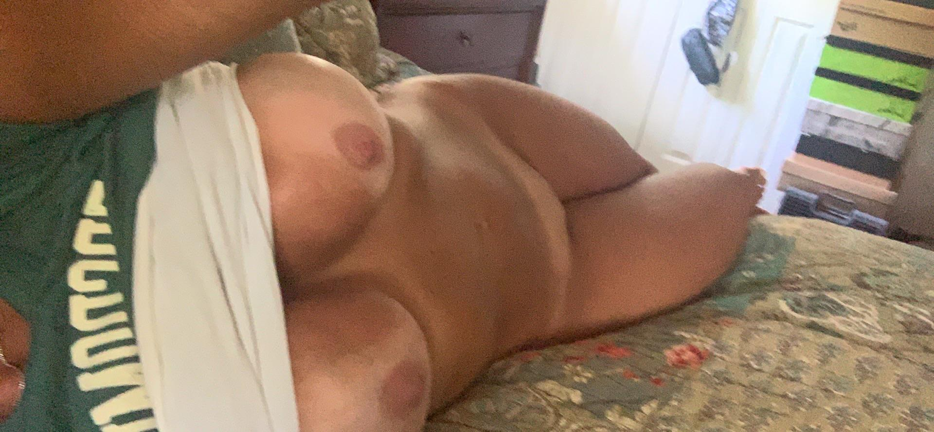 Just A Milf Stretching ?