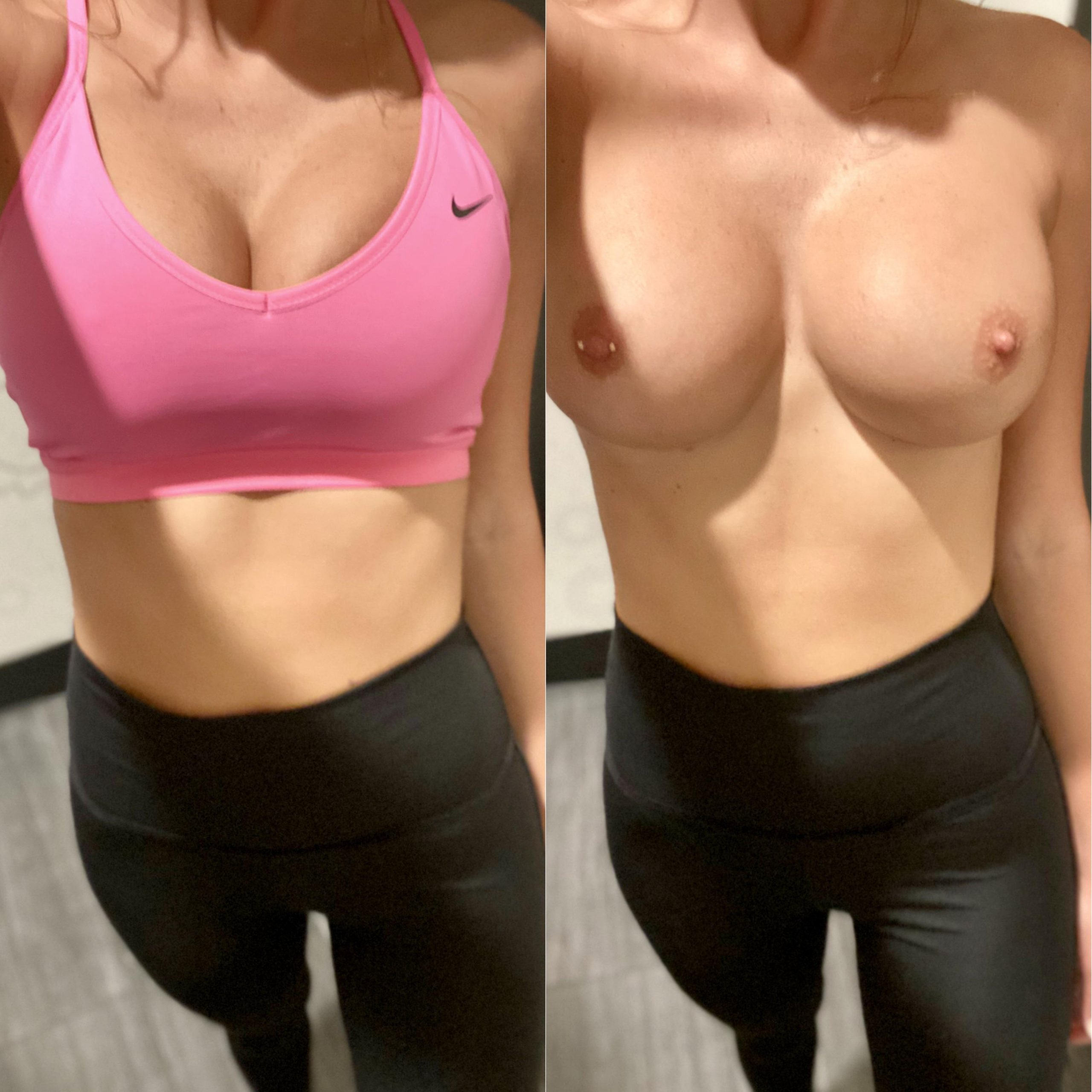 Sports Bras Can Be So…..restricting 😝🤍