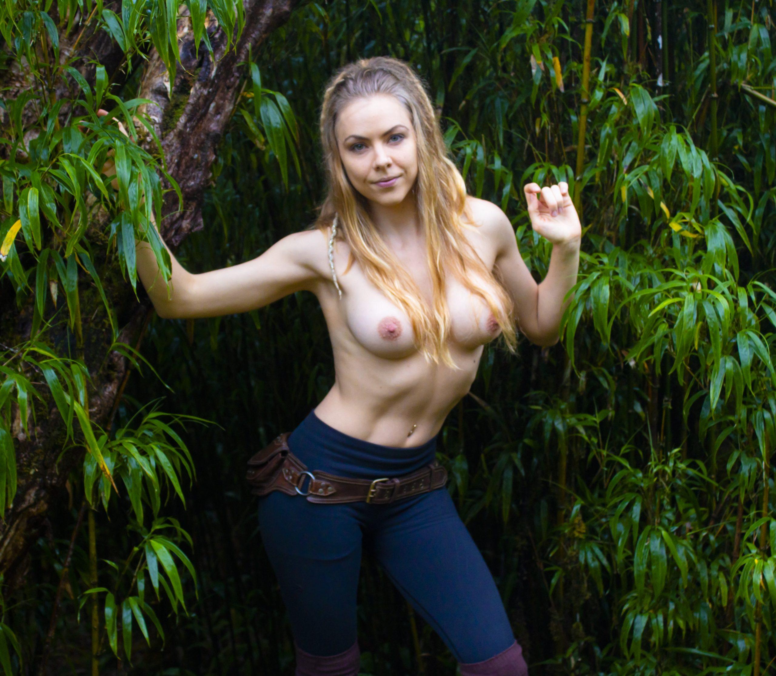 Breaking Up Through The Jungle Brush