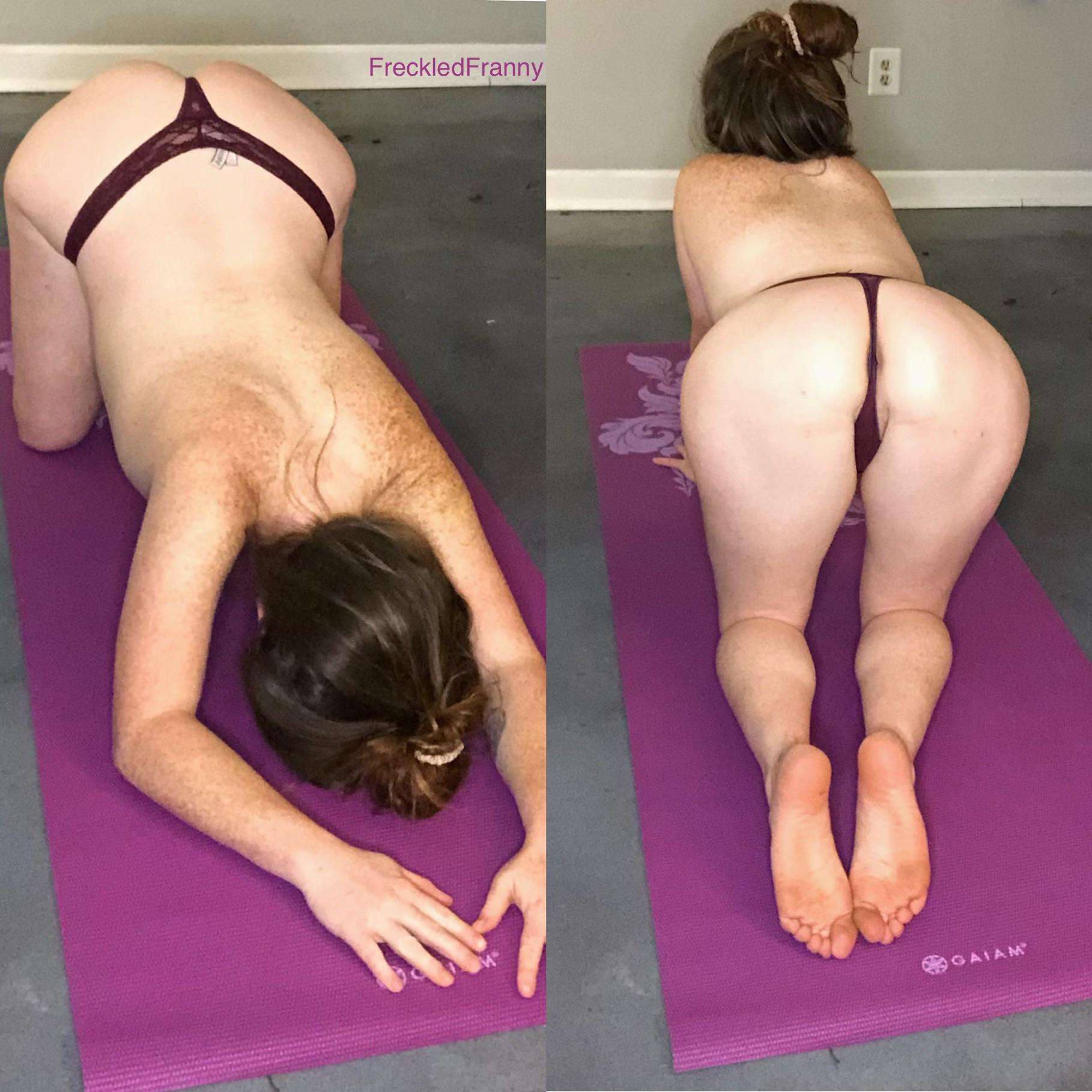 You Joining Naked Yoga?