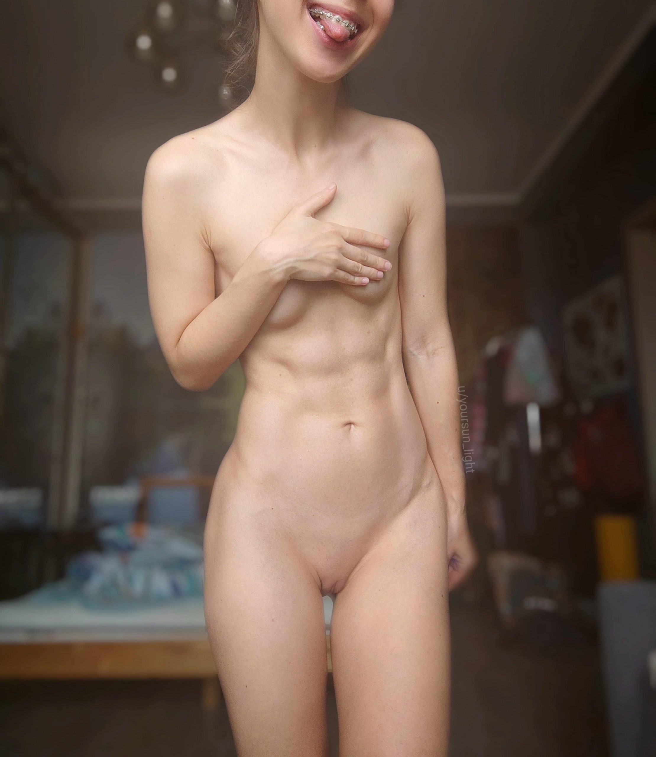 Fit Girls With Tiny Boobies Are Your Type?