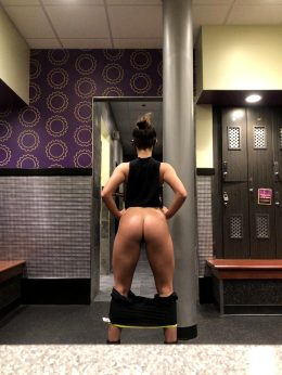 Ass Out At The Gym Today :)