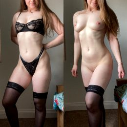 Do You Want The Stockings Taken Off As Well….