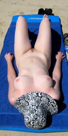First Time Naked At A Public Beach. Hopefully I Was Fit Enough For People To Notice.
