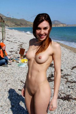 Fit Girl Naked In Public
