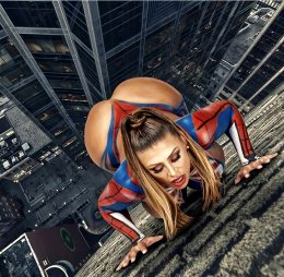 Francia James Is Your Friendly Neighborhood Spider-girl