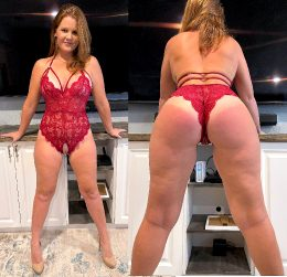 Front Or Back? Which Do You Like Better On A Redhead Hotwife?