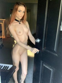 If I Answered My Door Like This For You Would You Cum Inside?;)