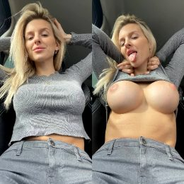 In The Car In Traffic