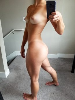 I've Been Working On My Ass Lately. Can You Tell?
