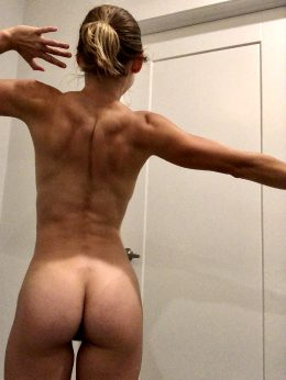 Morning Stretch. Would Any Of You Like To Stretch Me Out More? ?