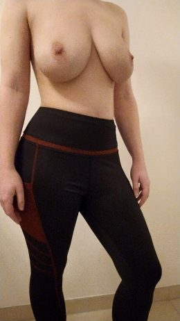 My Tits Before Taking A Jog