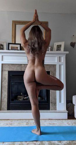 Naked Tree Pose