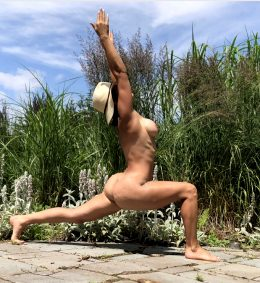 Naked Yoga Anyone?