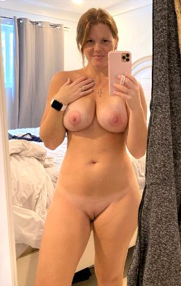 New Boobs!!! Redhead Wife And MILF!! How Do They Look?
