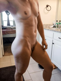 Post Workout Pic Before My Shower! ?