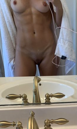 Shower Time After The Gym