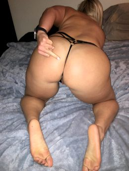 Squat Booty, Ripped Back And Sassy Attitude.