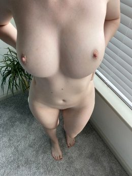 This Would Probably Be Your POV Of My Naked Body Since I'm 5'2″ ;)