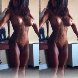 Throwback To Tanning For My Bodybuilding Show, Takes A While To Dry?