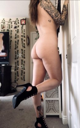 Want Me To Leave The Heels On While We Fuck?
