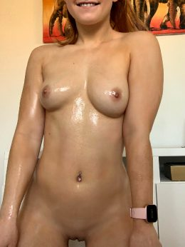 Wet Wednesdays? Who's Wants Me To Oil Up For Them?