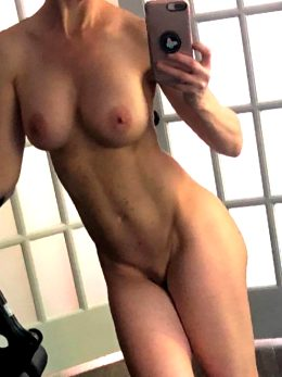 Working Out Naked In My Gym. Two Walls Are Pure Glass. I Wonder If Any Cubs Will Notice ???!!