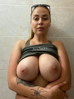 Would You Fuck Me Right Here In The Locker Room Bathroom If I Pulled You In With Me?