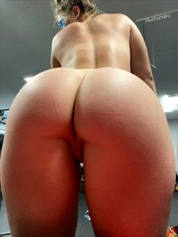 Would You Leave The Gym Early If I Was Waiting For You At Home Like This?