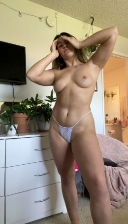Would You Suck On My Titties And Cum On My Tight Stomach Daddy