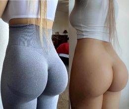 Yoga Pants On And Off Which Do You Prefer? ??