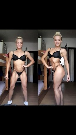 18yo Bikini Competitor Alena From Czech Republic