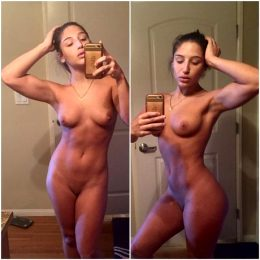 Abella Danger Shows Her Gains