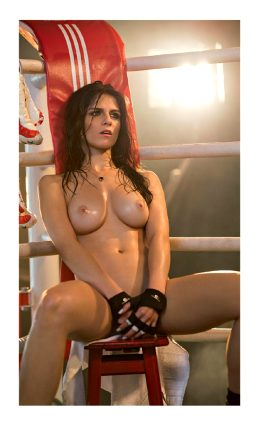 Aline Franzoi – UFC Cage Girl