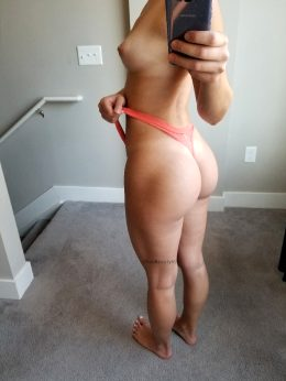 Been Putting In Some Work On My Booty, Can You Tell?