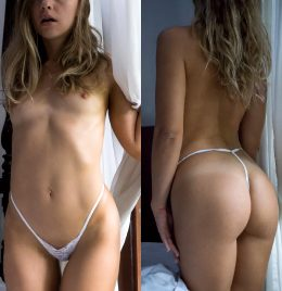 Enjoy My Front And Back View