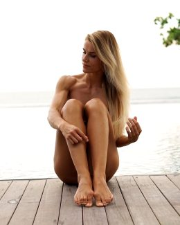 Fit German Woman