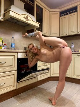 I Hope You Like Flexible Blondes