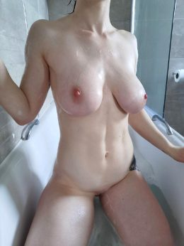 Pale And Firm Abs