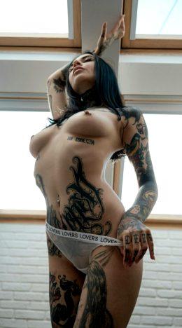 Skinny Goth 😊