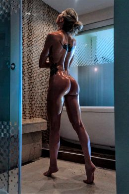 Toned Body In The Shower