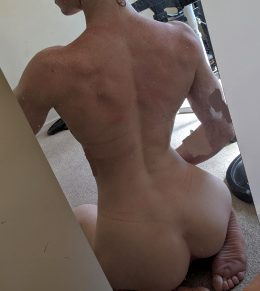 What Do You Think Of My Back? It's My Favourite Thing To Train